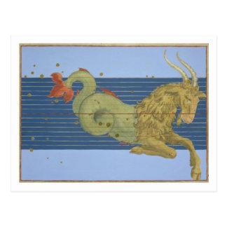 "Carte Postale Constellation de Capricorne, de ""Uranometria"" par"