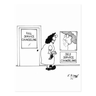 Carte Postale Consultation de la bande dessinée 4967