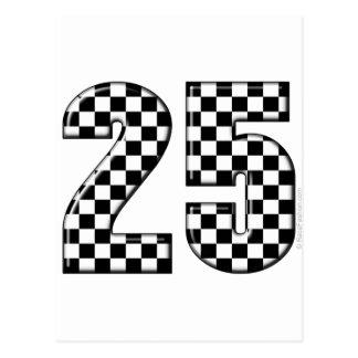 Carte Postale contrôleurs numéro 25 d'emballage automatique