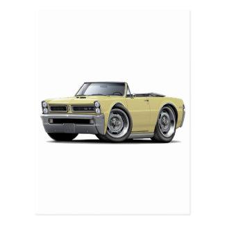Carte Postale Convertible bronzage de 1965 GTO