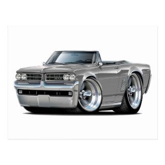 Carte Postale Convertible gris de 1964 GTO
