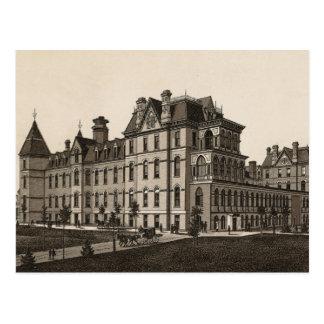 Carte Postale Cook County hôpital, Chicago (C. en 1880)