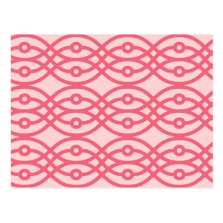 Carte Postale Copie de kimono, rose de corail