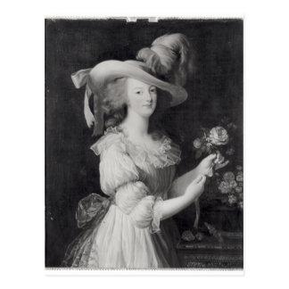 Carte Postale Copie d'un portrait de Marie-Antoinette