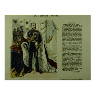 Carte Postale Copie d'une déclaration de Frederick III
