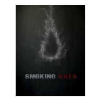 Carte Postale Cordage d'armement de tabagisme de mises à mort