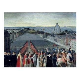 Carte Postale Cortège de la confrérie du Saint-Michel
