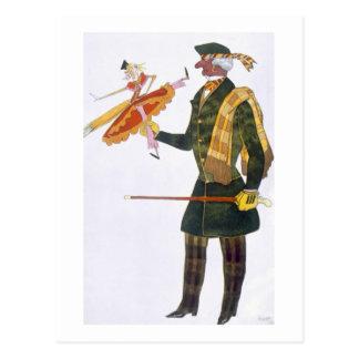 Carte Postale Costume pour l'Anglais, de la boutique Fanta de La