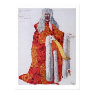 Carte Postale Costumez la conception pour le maréchal