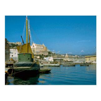 Carte Postale Côte d'Amalfi, bord de mer de Salerno