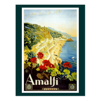 Carte Postale Côte d'Amalfi, Italie