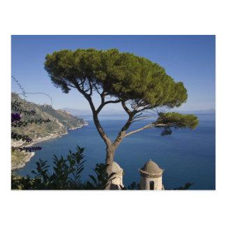 Carte Postale Côte d'Amalfi, Ravello, Campanie, Italie
