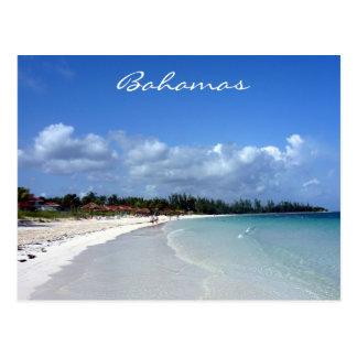 Carte Postale côte des Bahamas