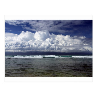 Carte Postale Côte sud Sri Lanka de tempête de mousson