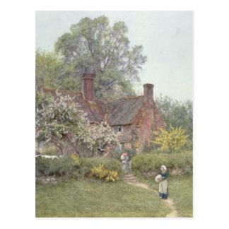 Carte Postale Cottage chez Chiddingfold