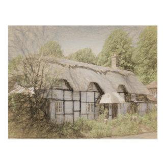 Carte Postale Cottage de Heather