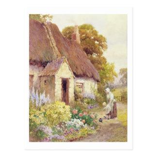 Carte Postale Cottage de pays