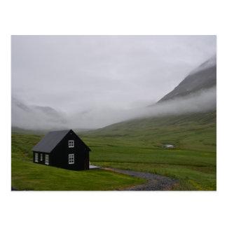 Carte Postale Cottage islandais