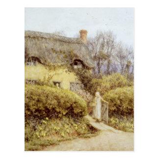 Carte Postale Cottage près d'eau douce