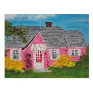 Carte Postale Cottage rose
