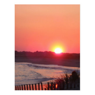 Carte Postale Coucher du soleil * Cape May, New Jersey