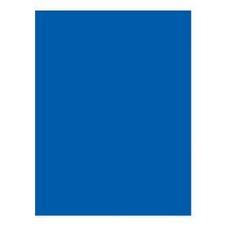 Carte Postale Couleur bleue vivement impressionnante