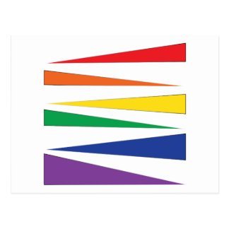 Carte Postale Couleur de gay pride