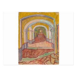Carte Postale Couloir dans l'hôpital Vincent van Gogh de St Paul