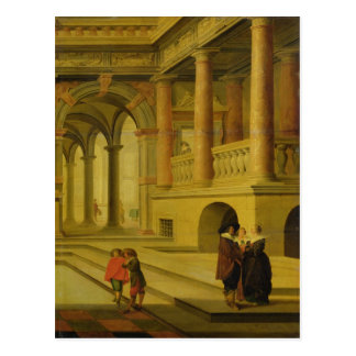 Carte Postale Cour de palais
