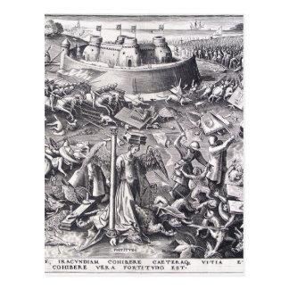 Carte Postale Courage par Pieter Bruegel l'aîné
