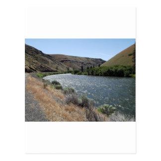 Carte Postale Courbure en rivière