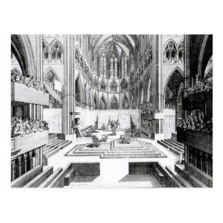 Carte Postale Couronnement de James II au collégial