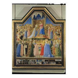 Carte Postale Couronnement de la Vierge, c.1430-32