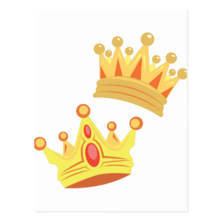 Carte Postale Couronnes royales