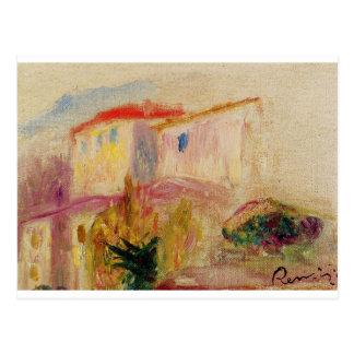Carte Postale Courrier de le chez Cagnes (étude) Pierre-Auguste