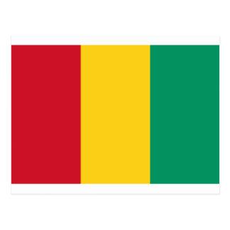 Carte Postale Coût bas ! Drapeau de Guinée