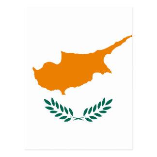 Carte Postale Coût bas ! Drapeau de la Chypre