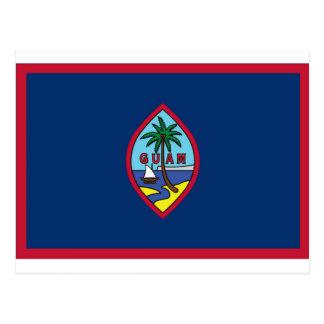 Carte Postale Coût bas ! Drapeau de la Guam