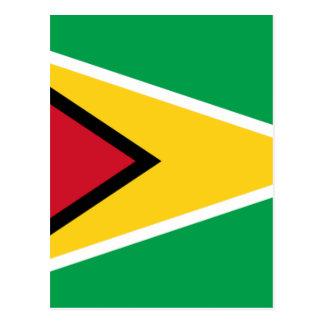 Carte Postale Coût bas ! Drapeau de la Guyane