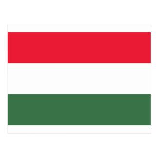 Carte Postale Coût bas ! Drapeau de la Hongrie