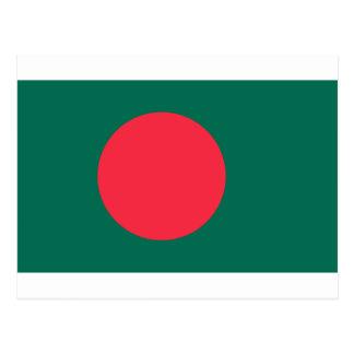 Carte Postale Coût bas ! Drapeau du Bangladesh