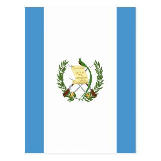 Carte Postale Coût bas ! Drapeau du Guatemala