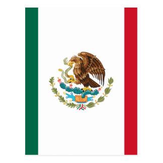 Carte Postale Coût bas ! Drapeau du Mexique