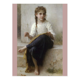 Carte Postale Couture par William-Adolphe Bouguereau