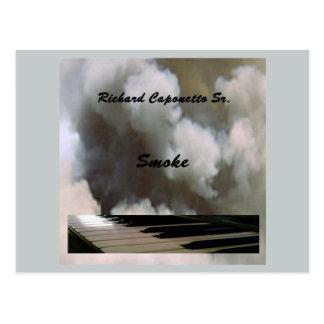 Carte Postale Couverture d'album pour la fumée d'album