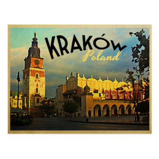 Carte Postale Cracovie Pologne
