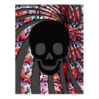 Carte Postale crâne de pirate