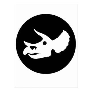 Carte Postale Crâne de Triceratops