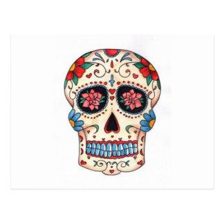 Carte Postale crâne mexicaines