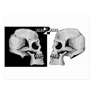 Carte Postale Crânes